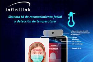 Control de accesos con medición de temperatura Infinilink